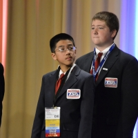 Johnny Bui and Michael Canning from Postlethwait Middle School received 7th place in Challenging Technology Issues.
