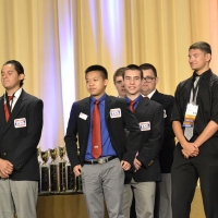 Quan Bui, Michael Krueger, Bob DiNunno, and James Shallow  of Concord High School received 10th place in Music Production.