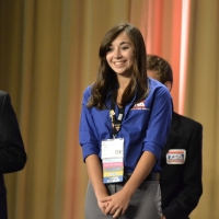 Reilly Megee of Cab Calloway School of the Arts received 7th place in Promotional Graphics.
