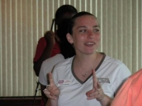 Rebecca Marshall at State Officer Training