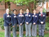 The 2009-2010 State Officer Team at Legislative Appreciation Day