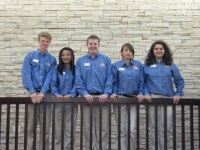 The 2010-2011 State Officer Team